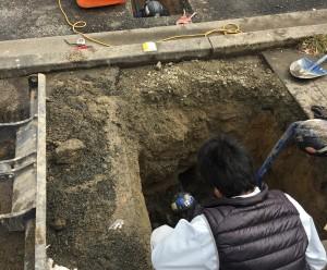 水道本管工事
