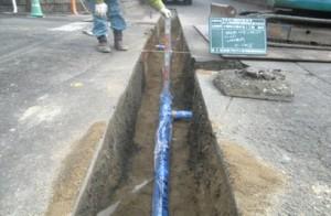 みくに野水道管