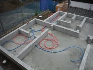 新築設備工事(久留米市西町)