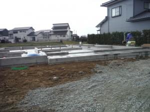 福岡県三潴での新築給排水工事