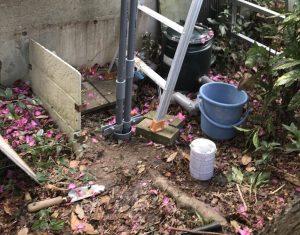 大野城市で深井戸ポンプの取替え