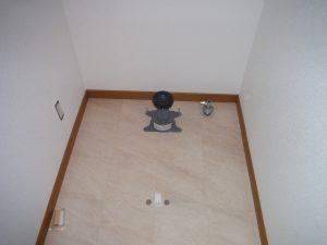 トイレの便器取り付け