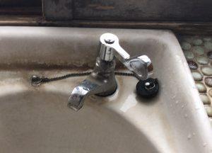 単水栓のハンドルをレバーハンドルに変更