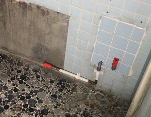 久留米市御井町・アパートの古い浴室改修工事
