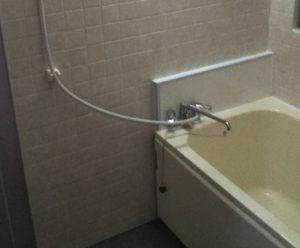 久留米市アパート浴室の改修工事